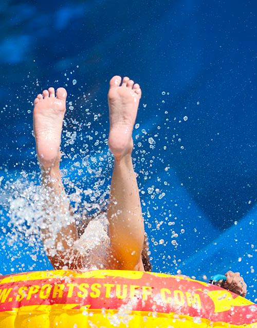 The Splash Slide