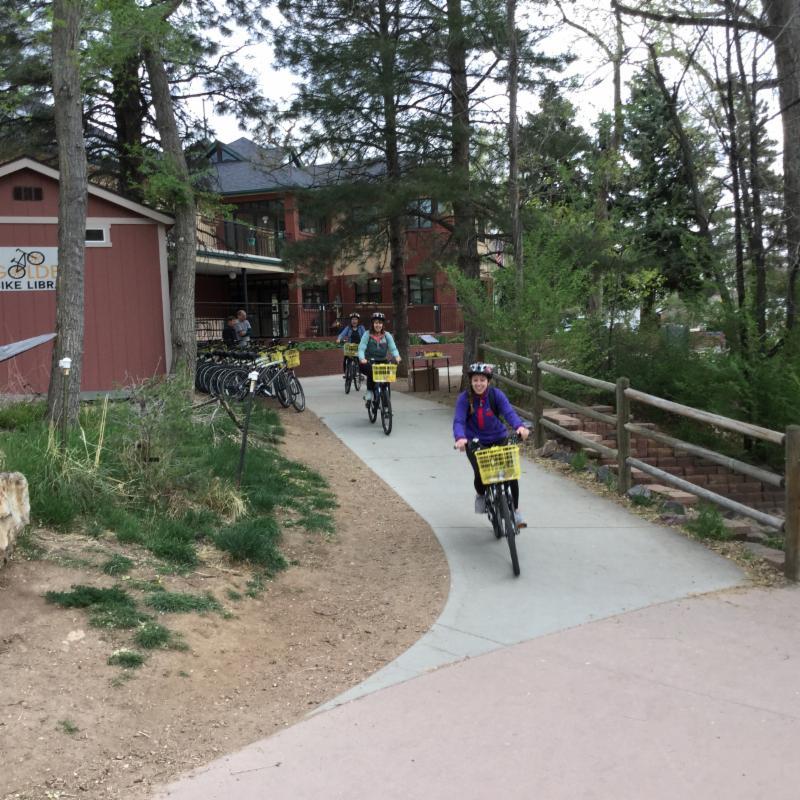 Bike Library riders