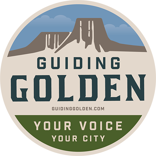 Guiding Golden Logo