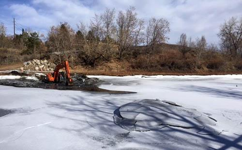 Pond Sediment Removal