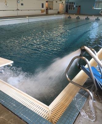 GCC Pool refilling