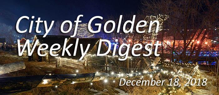 Weekly Digest December 18 2018