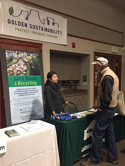 Sustainability in Golden meeting