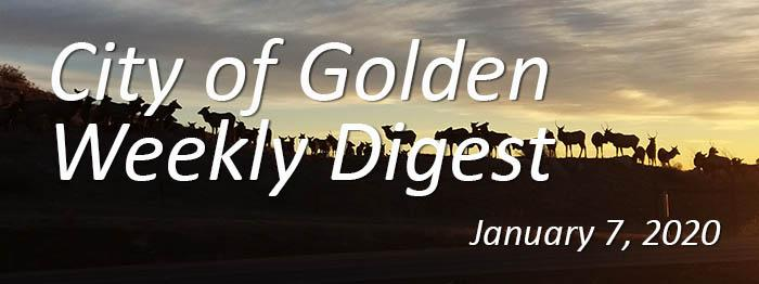 Weekly Digest January 7 2020