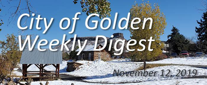 November 12 2019 Weekly Digest