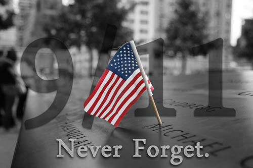 Sept. 11 Never Forget
