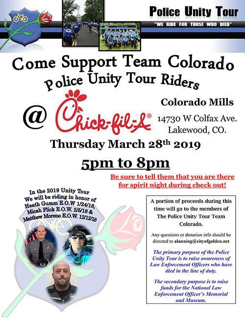 Police Unity Tour Spirit Night