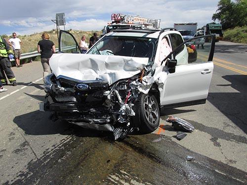 Crash on US 6