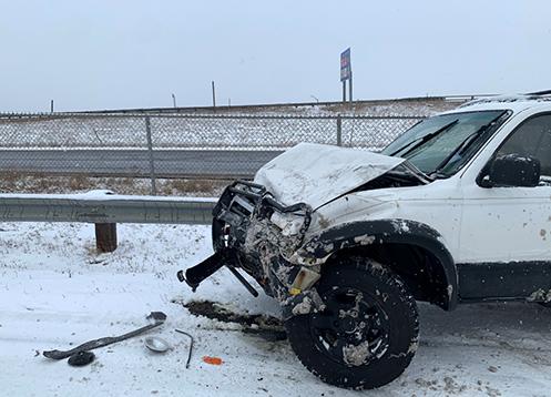Snowplow v SUV