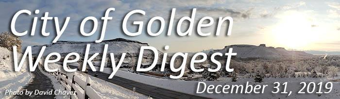 Weekly Digest December 31 2019