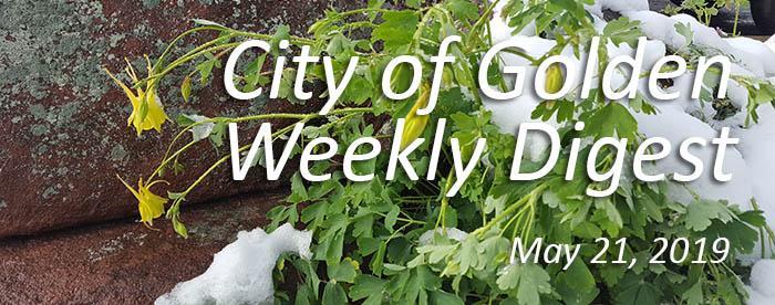 Weekly Digest May 21 2019