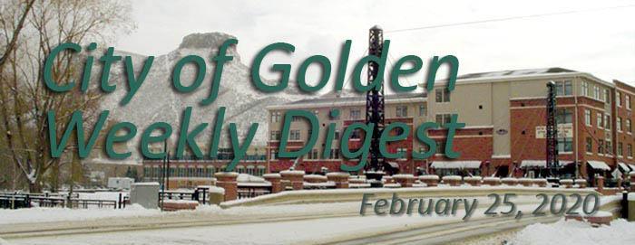 Weekly Digest - February 25 2020
