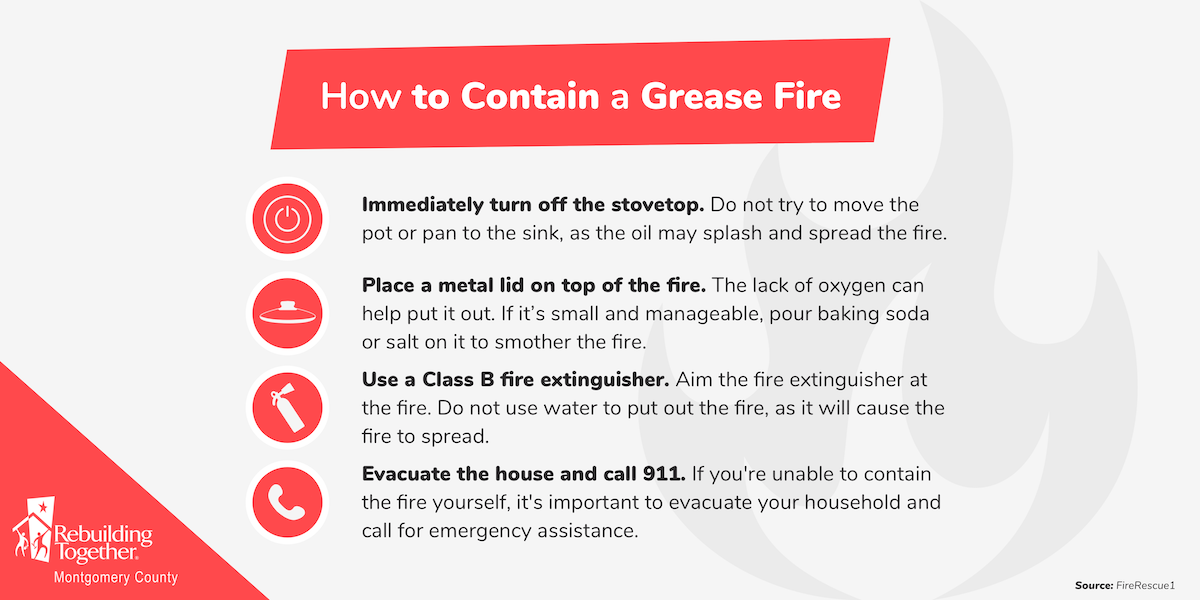 How to Contain a Grease Fire