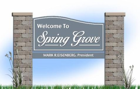 Welcome to Spring Grove sign