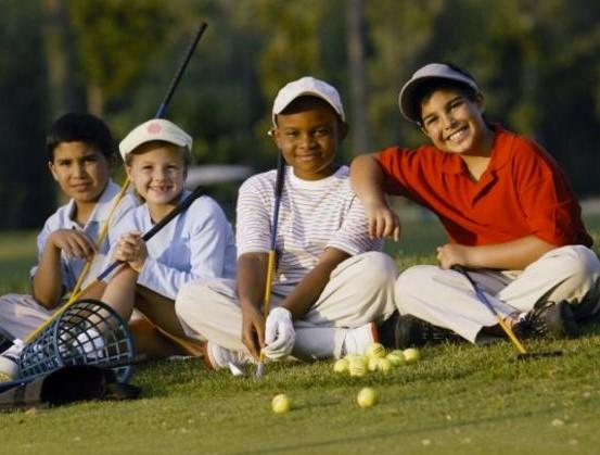 child golfers