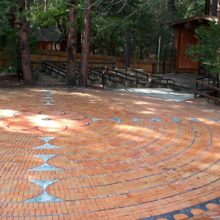 The Labyrinth at St. Hugh's in Idyllwild