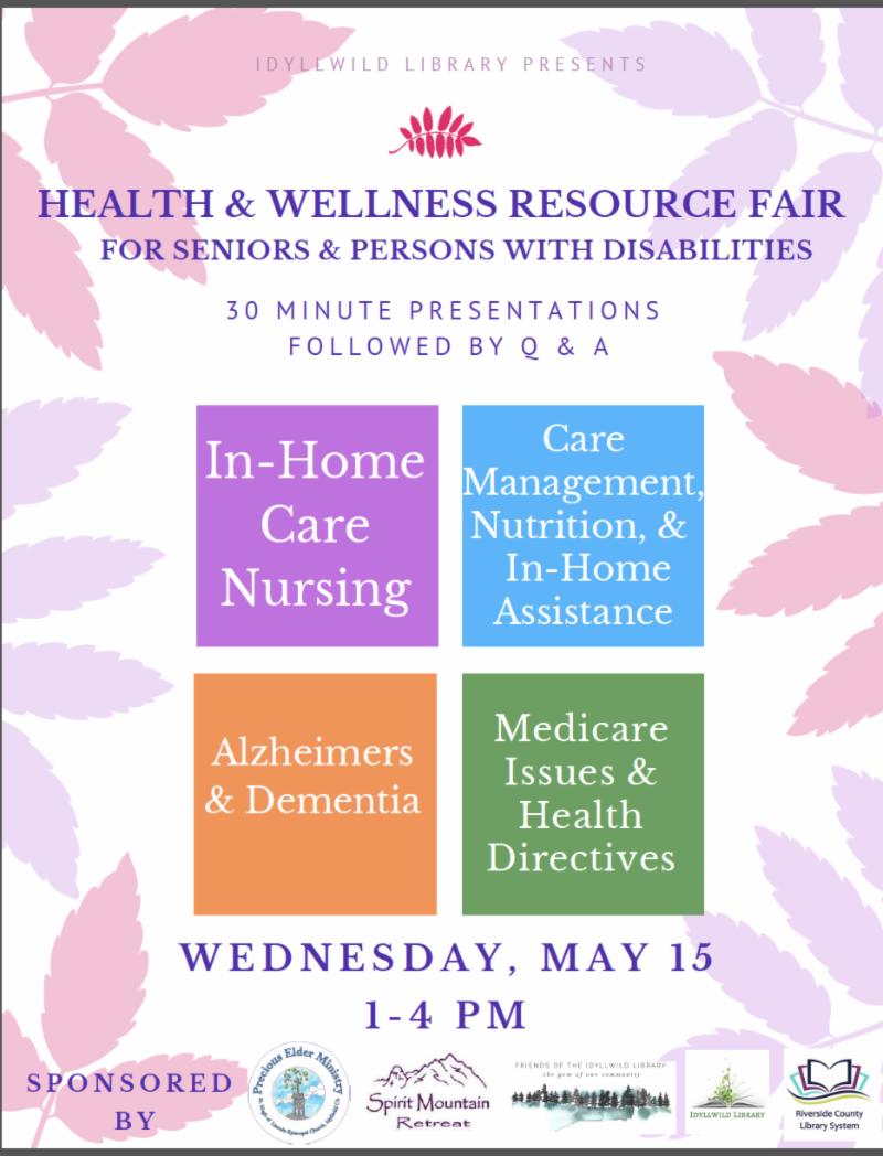 Health and Wellness Resource Fair