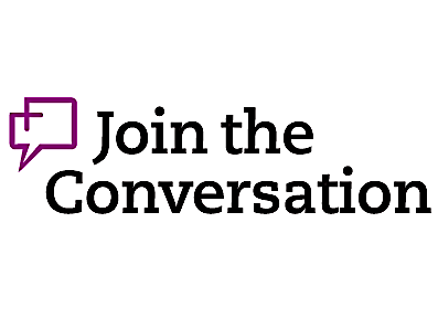 """Image of """"Join the Conversation"""" for ThoughtExchange"""