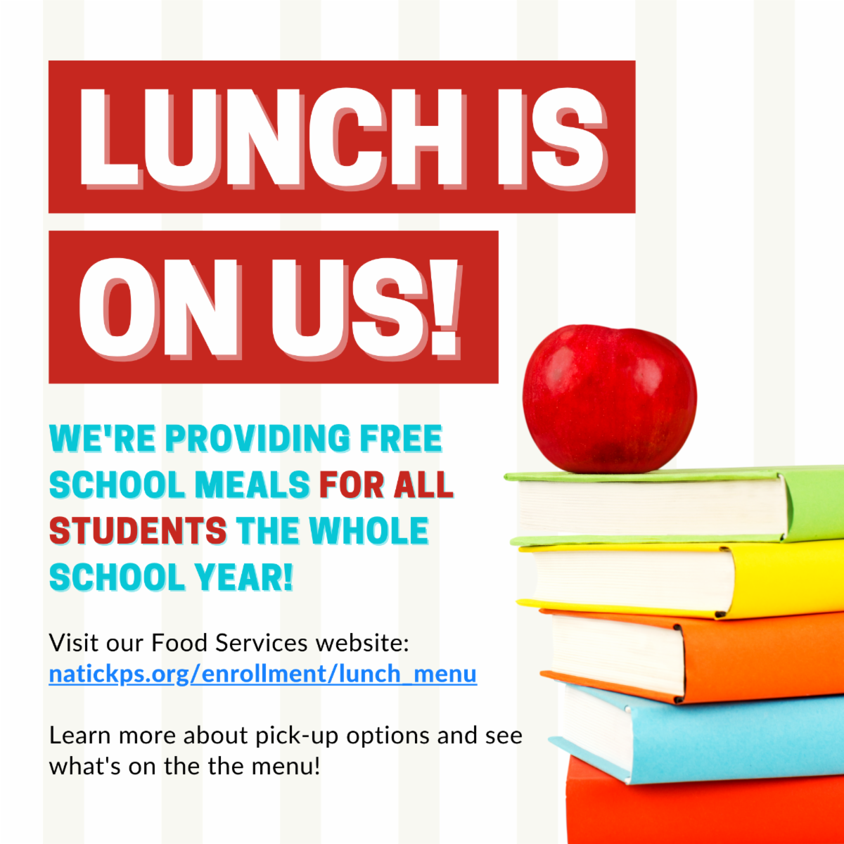 Free Universal Lunch Flyer