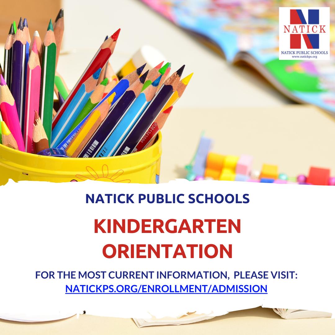 Kindergarten Orientation Graphic