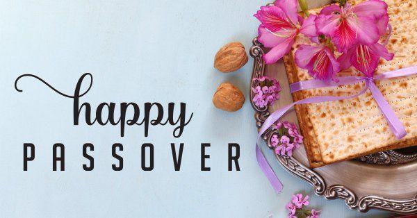 Happy Passover graphic