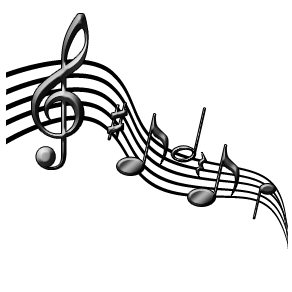 Image of musical notes.