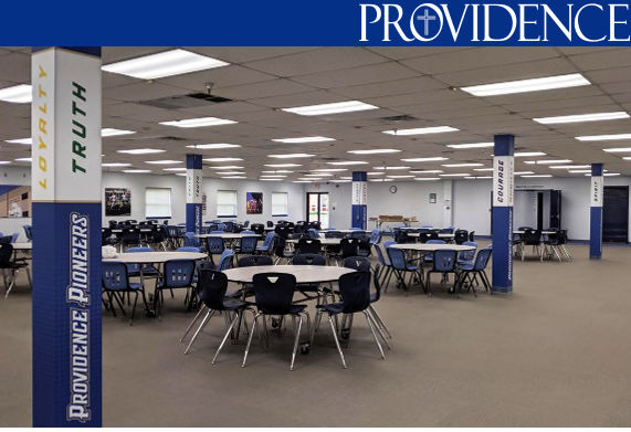 Providence cafeteria updated