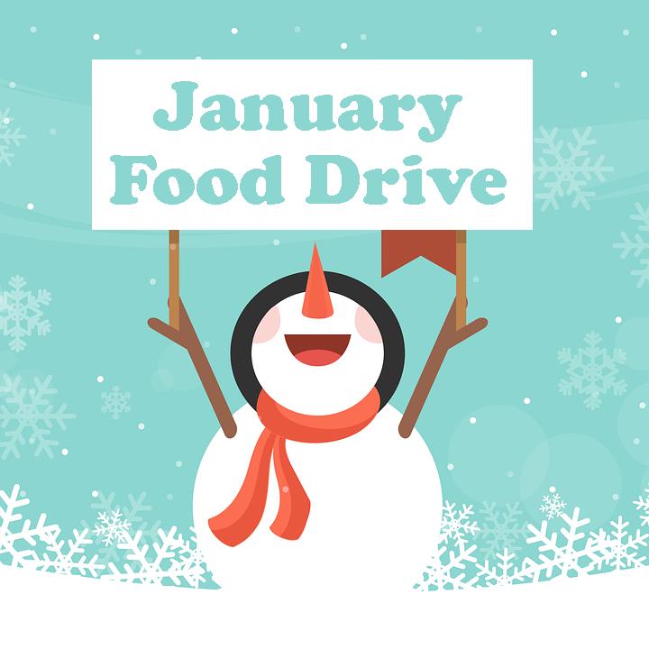 January Food Drive image 2020