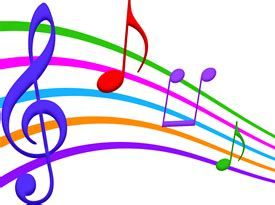 Musical Notes color
