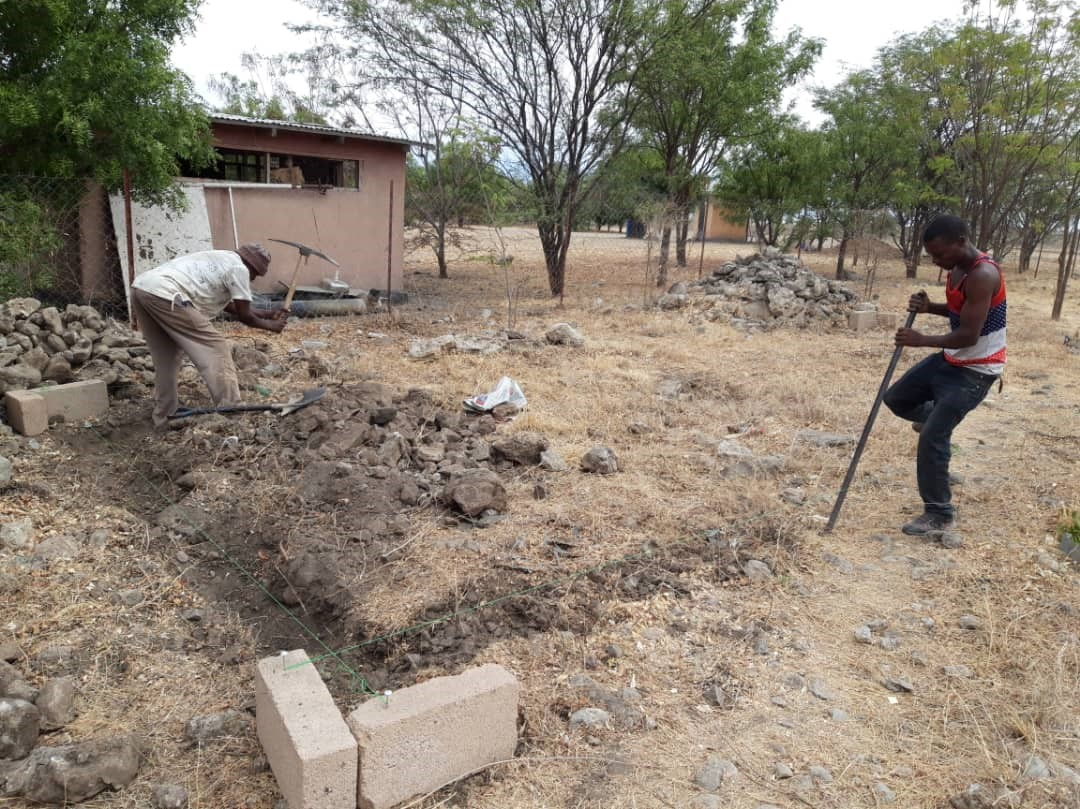 CCF Digging foundation