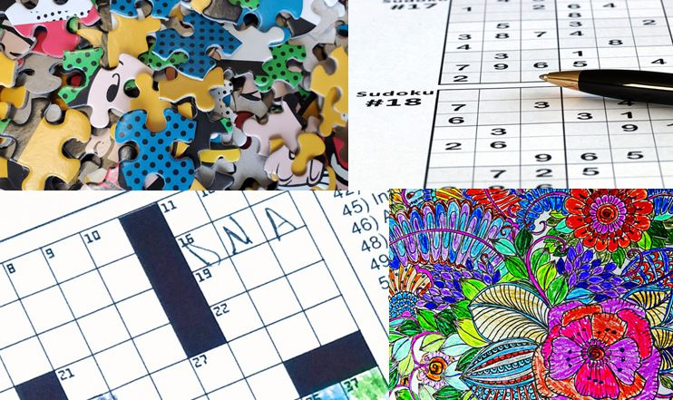 Crossword Sudoku Puzzle Coloring