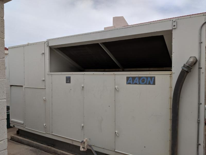 AAON Unit front view