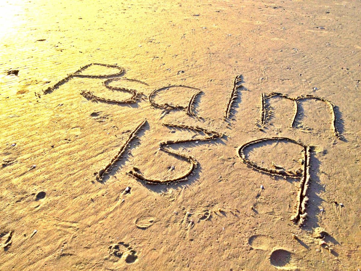 Psalm 139 Sand