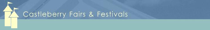 Castleberry Fairs & Festival logo castle tops