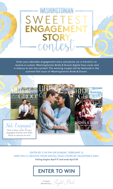 sweetest engagement contest