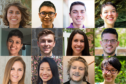 MIT Materials Research Laboratory selected 12 top-ranking undergraduates to conduct graduate-level research this summer.
