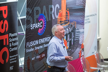 Plasma Science and Fusion Center Director Dennis Whyte. Photo by Gretchen Ertl.