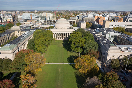 MIT is on the path to achieve at least a 32 percent reduction in campus emissions of greenhouse gases by the year 2030.