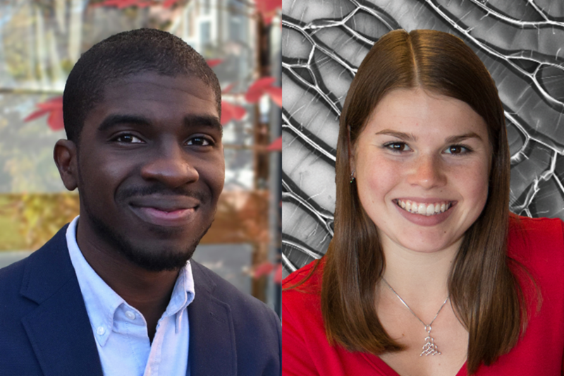 The Office of Naval Research and the Air Force Office of Scientific Research have awarded 2018 National Defense Science and Engineering Graduate Fellowships to two graduate students in Professor of Aeronautics and Astronautics Brian L. Wardle's lab.