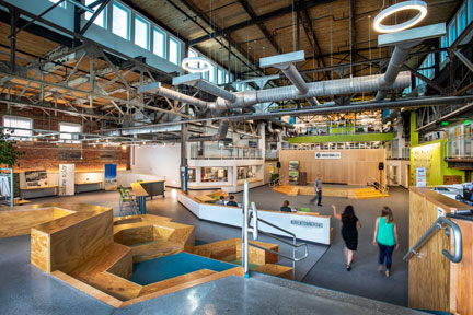 Greentown Labs is the largest clean technology incubator in North America.