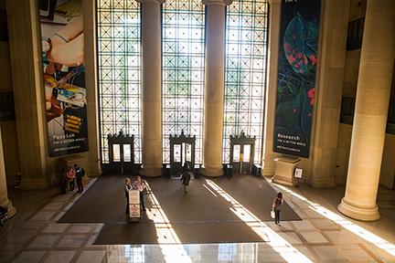 MIT Lobby 7. Photo by Jake Belcher
