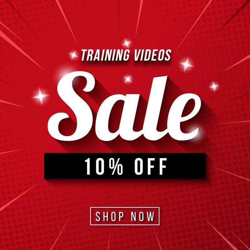 Save 10% off videos