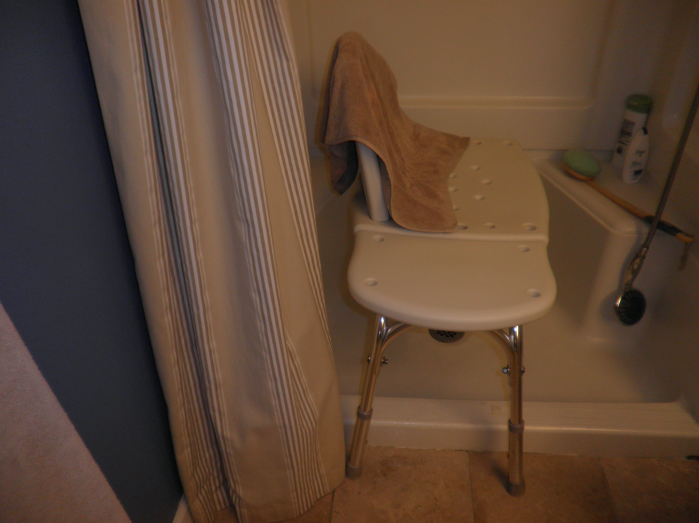 Bathroom fixes for aging in place