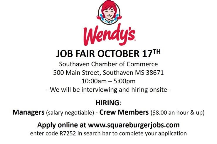 ... 5pm. We Will Be Interviewing And Applying On Site. Hiring For Managers  And Crew Members. Apply Online At Www.squareburgersjobs.com.