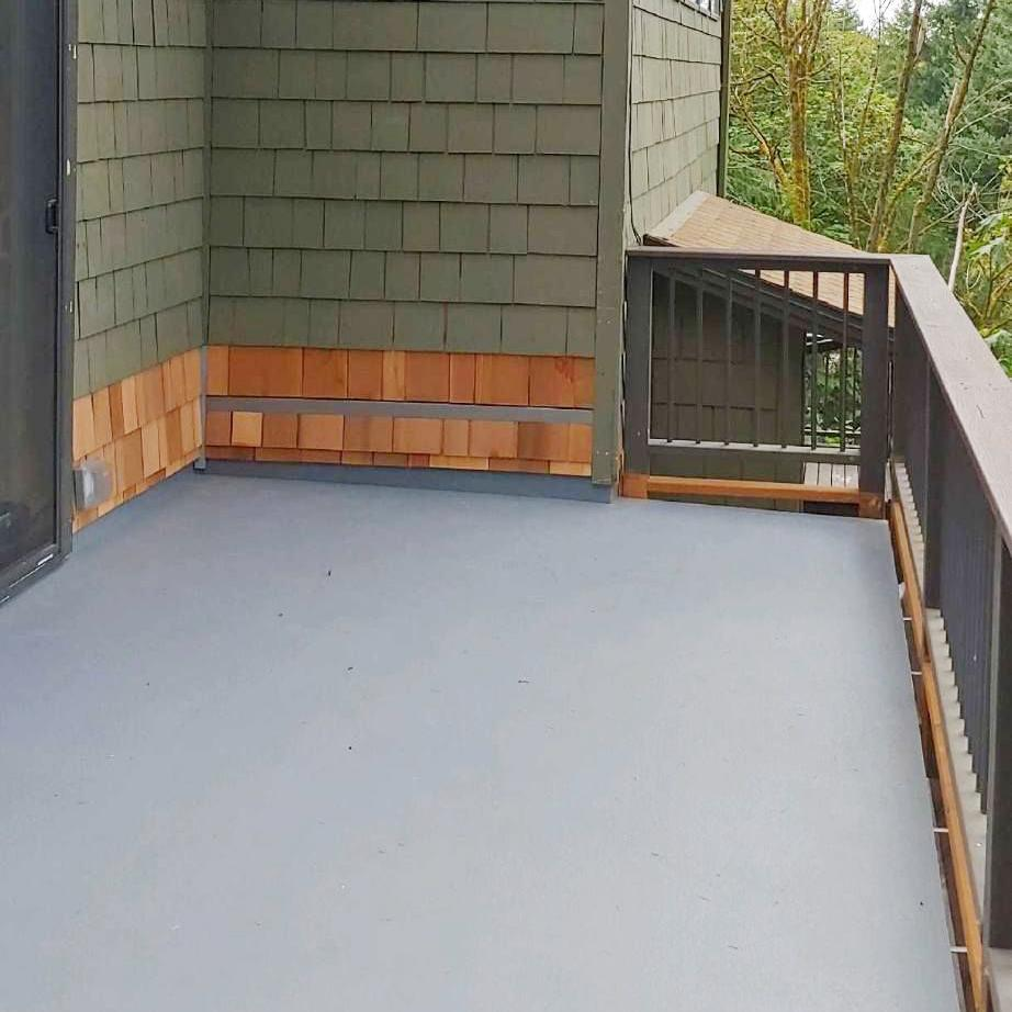 Deck Repair Underway