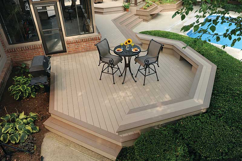 Harvest Brownstone Deck Photo