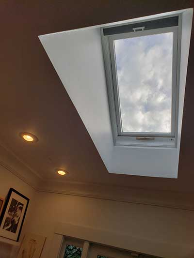 Skylight After Repair