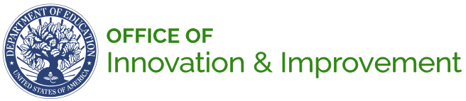 Image of the logo for the U.S. Department of Education's Office of Innovation & Improvement