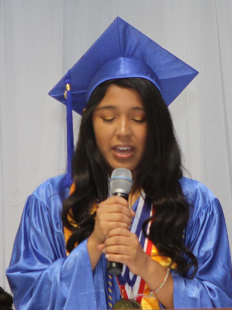 Camila Arjona Valedictorian
