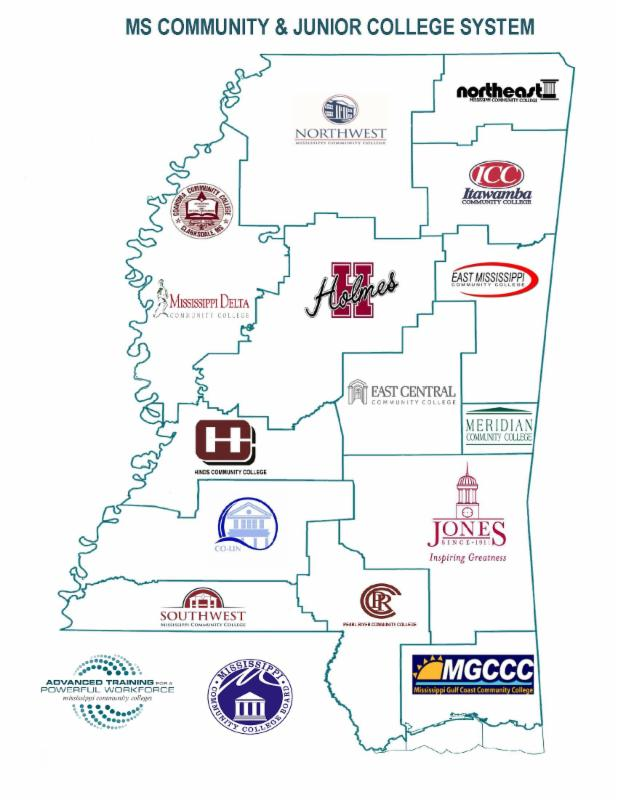 Meridian Community College Campus Map.Mississippi Workforce Advantage